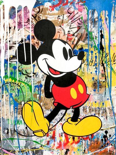 Mr. Brainwash, 'Mickey Yellow', 2018