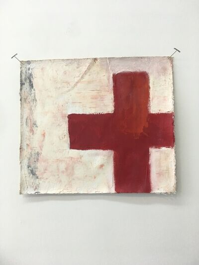 Chris Esposito, 'Form (red cross)', 2012