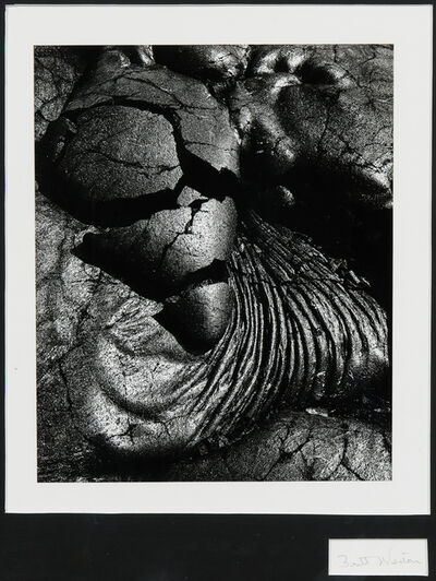 Brett Weston, 'Lava Flow, Hawaii', c. 1980