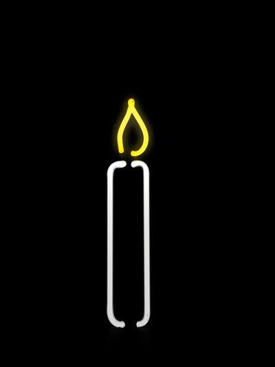 Gavin Turk, 'Argon Candle', 2013