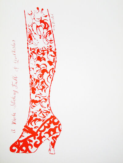 Andy Warhol, 'A Stocking Full of Good Wishes', 1956