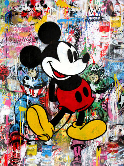 Mr. Brainwash, 'Mickey ', 2017