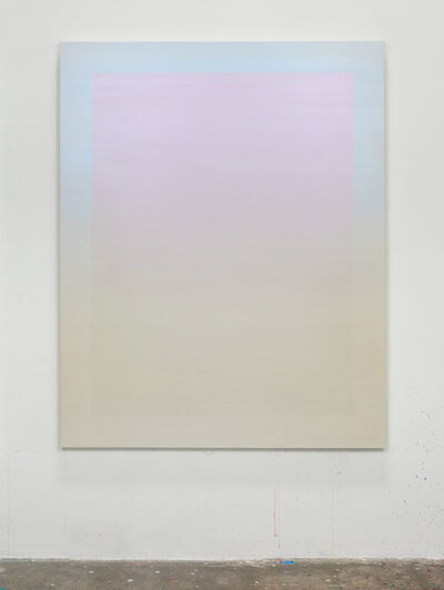 Shingo Francis, 'Interference (cerulean-pink)', 2018