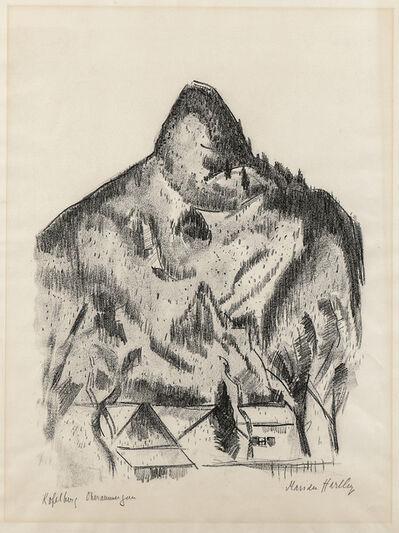 Marsden Hartley, 'Kopelberg-Oberammergau', 1934
