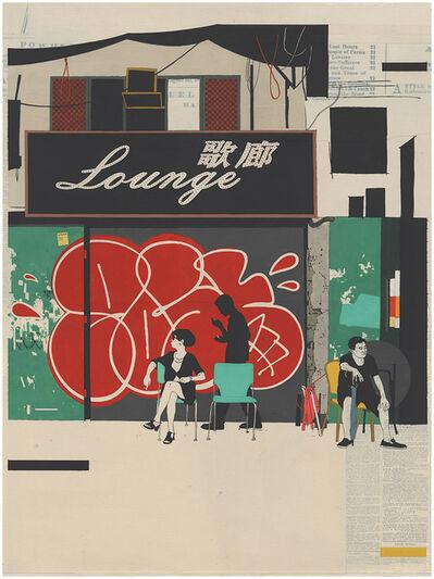 Evan Hecox, 'Hong Kong Lounge', 2017