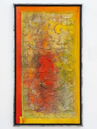 Frank Bowling, 'Red Hyacinths', 1992