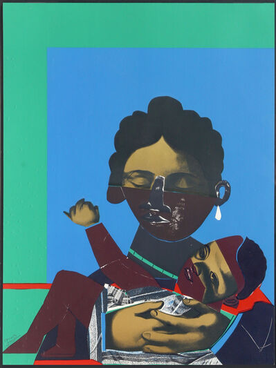 Romare Bearden, 'Mother and Child', 1977