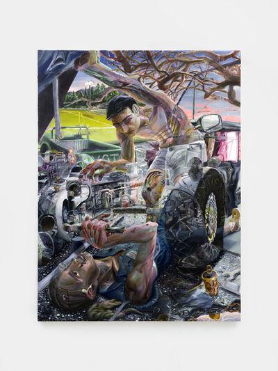 Danica Lundy, 'Oil stain', 2020