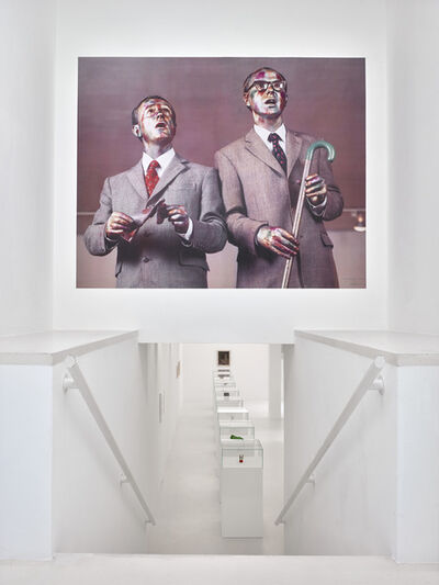 Gilbert and George, 'The Singing Sculpture', 1993
