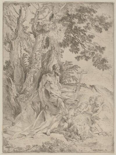Pietro Testa, 'Saint Jerome', 1632/1633