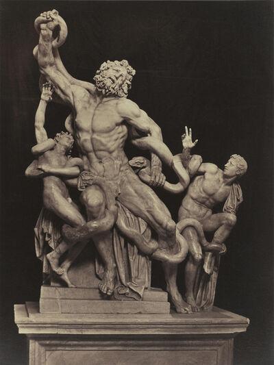 James Anderson, 'Laocoön, Roma', ca. 1855