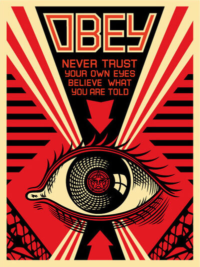 Shepard Fairey, 'Eye Alert', 2007