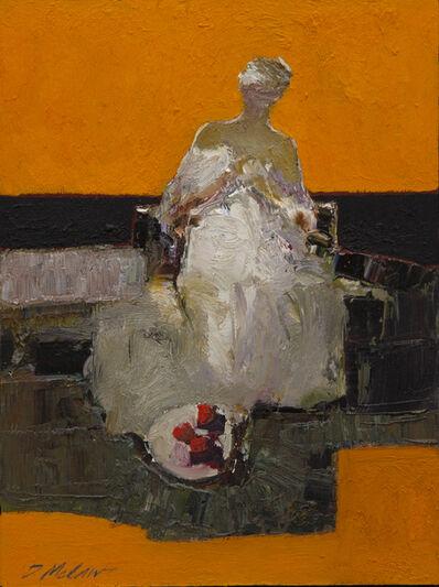 Dan McCaw, 'Figure with Apples', 2021