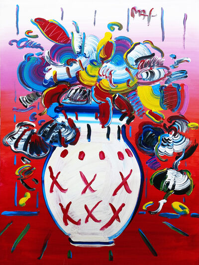 Peter Max, 'VASE OF FLOWERS SERIES 28 VER. II #1', 2003