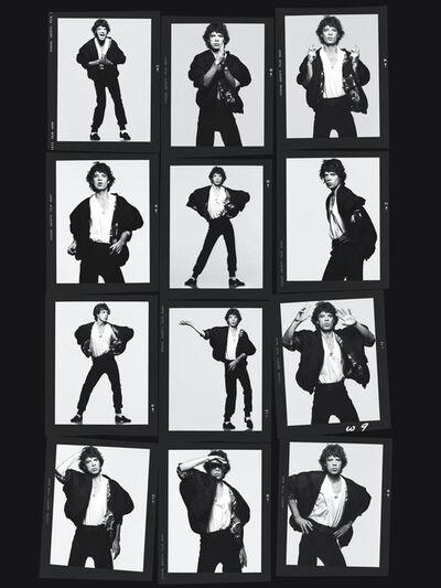 Albert Watson, 'Mick Jagger (Dancing) (Contact)', 1984