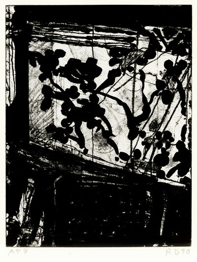 Richard Diebenkorn, 'Window', 1990