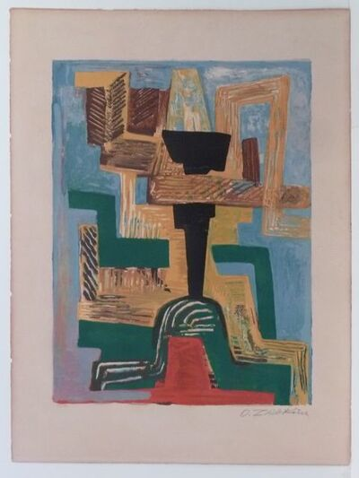 Ossip Zadkine, 'Dieu Noir ', 1962