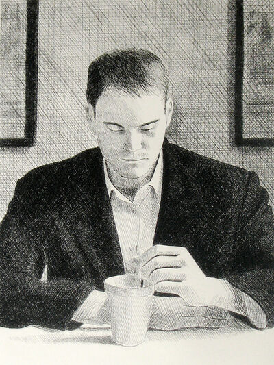 Dan McCleary, 'Man With Coffee Cup', 2004