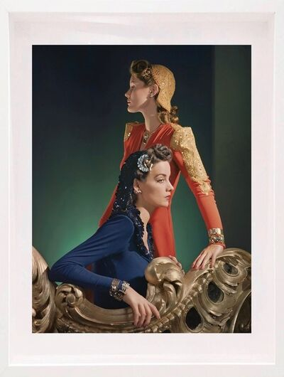 Horst P. Horst, 'Ensembles by Nettie Rosenstein, Jewelry by Tiffany and Co., Framed ', 1940