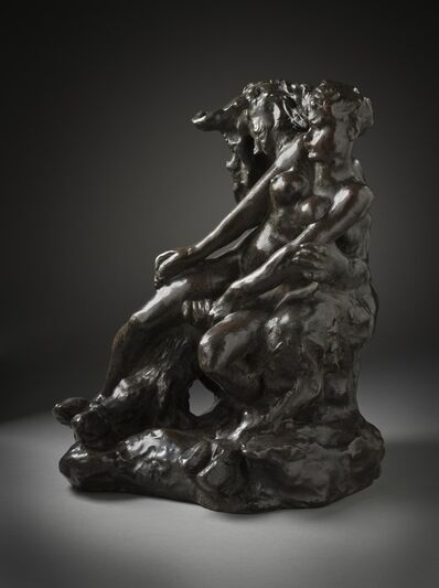 Auguste Rodin, 'Minotaur or Faun and Nymph', ca. 1886