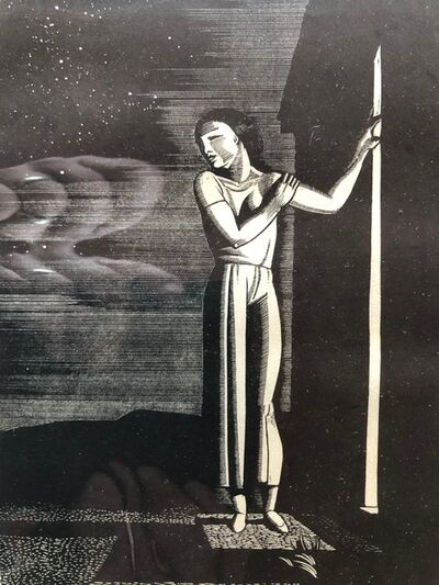 Rockwell Kent, 'Starry Night', 1933