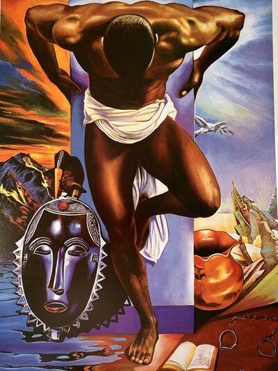 Alix Beaujour, 'Black ManRedemption', 1990