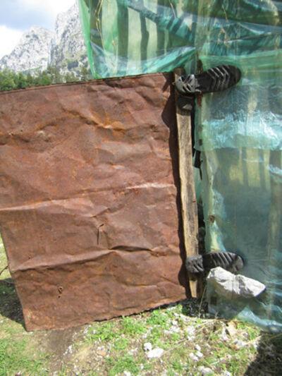 Sislej Xhafa, 'dera dhe bjeshkët e nemura (the door and the accursed mountain)', 2011