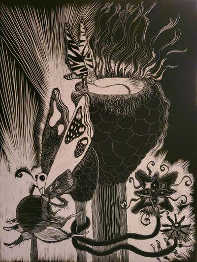 Wendy Bantam, 'Butterflies Dream in Microverse', 2020