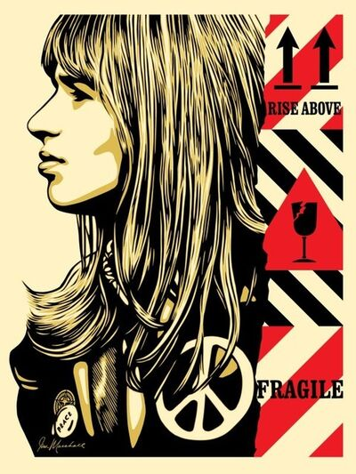 Shepard Fairey (OBEY), 'Fragile Peace', 2017