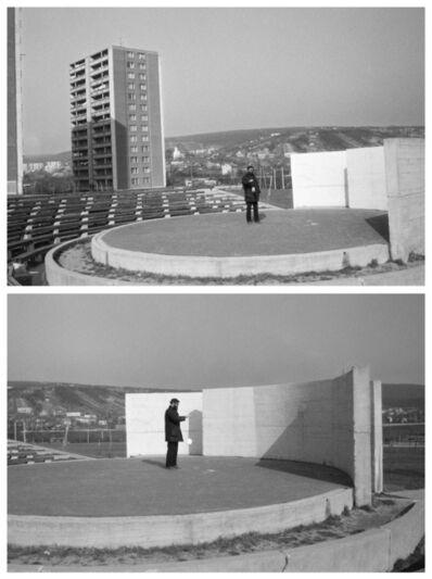 Július Koller, 'Monologic - JOJO 1, 2 (U.F.O.),', 1962