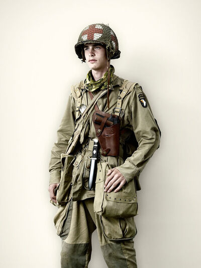 Jim Naughten, 'US Medic, 101st Airborne', 2008