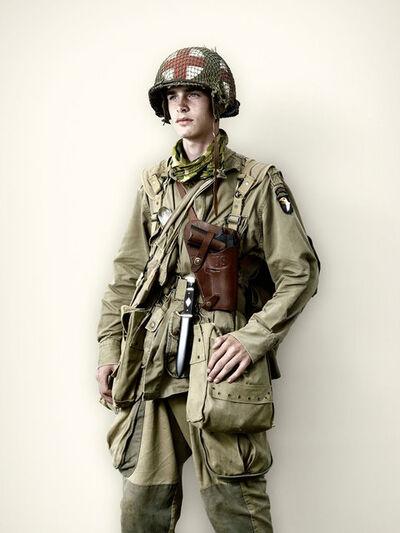 Jim Naughten, 'US Medic, 101st Airborne', 2008