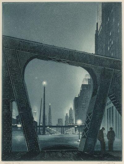 Gerald Kenneth Geerlings, 'Jewelled City', 1931