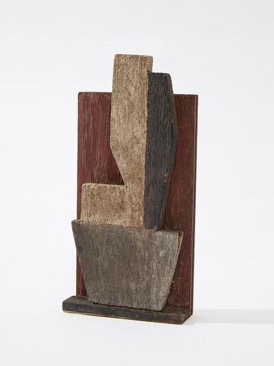 Joaquín Torres-García, 'Objet plastique (Formas policromadas) [Plastic Object (Polychromatic Forms)]', 1924