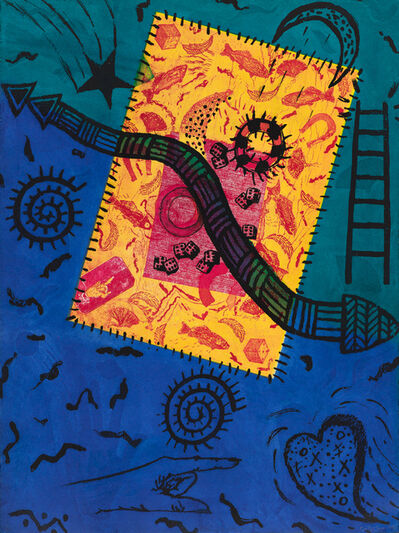 Betye Saar, 'Return to Dreamtime', 1990