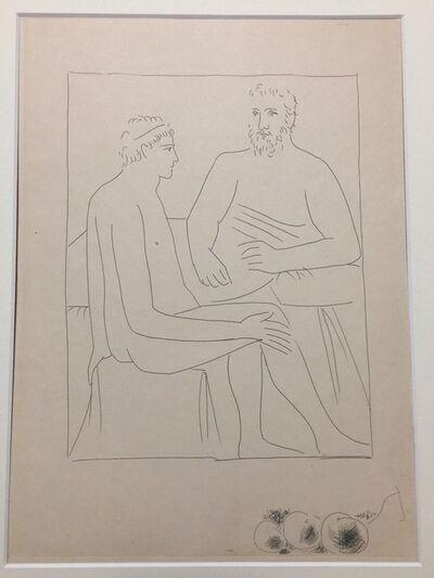 """Pablo Picasso, 'Numa suit les Cours de Pythagore - From """"Les Métamorphoses d'Ovide""""', 1931"""