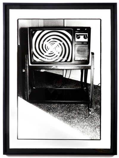 Bruce Conner, 'THE LATE NIGHT MOVIE ON TV: JUNE 10, 1978 @ 1:20 TO 1:27AM: STERNS MOTEL IN VENICE, CA', 1978