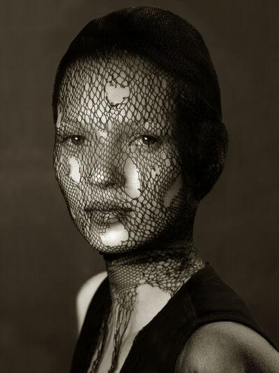 Albert Watson, 'Kate Moss in Torn Veil', 1993