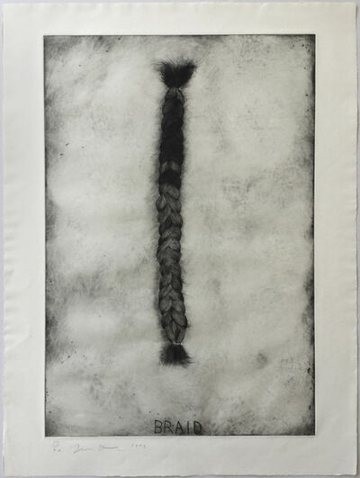 Jim Dine, 'Braid (first state)', 1972