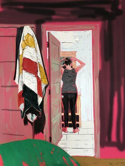 Kim Dorland, 'Bathroom Mirror', 2017