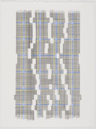 Laura Kaufman, 'Weight Of Empty Space (Plaid)', 2018