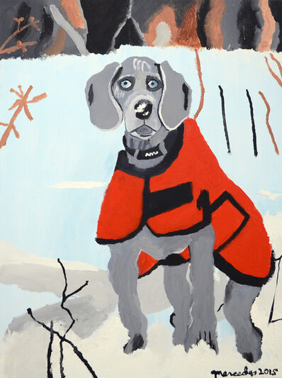 Mercedes Kelly, 'Winter Weimaraner', 2015