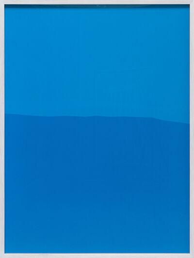 Frank Mädler, 'Blau mit Blau', 2020