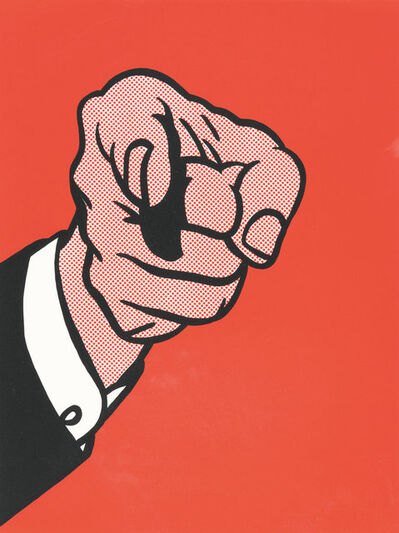 Roy Lichtenstein, 'Finger Pointing', 1973