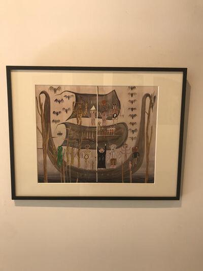 Mitsuru Takeya, 'Dead Sea Documents', 2013