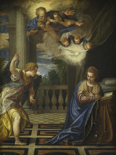 Paolo Veronese, 'The Annunciation', ca. 1580