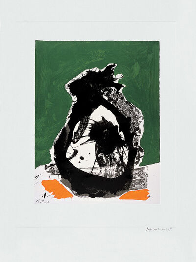 Robert Motherwell, 'The Basque Suite: Untitled (ref. 80)', 1971
