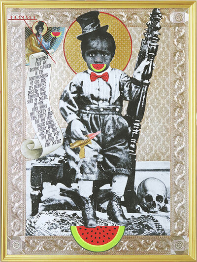 Mark Doox, 'Of Big And Black Bones (Toy Gun) ', 2019