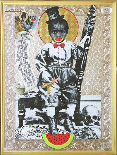 Mark Doox, 'Of Big And Black Bones (Toy Gun) ', 2019