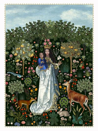Karin Miller, 'virgin in the rose garden', 2017